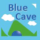 青の洞窟ロゴ