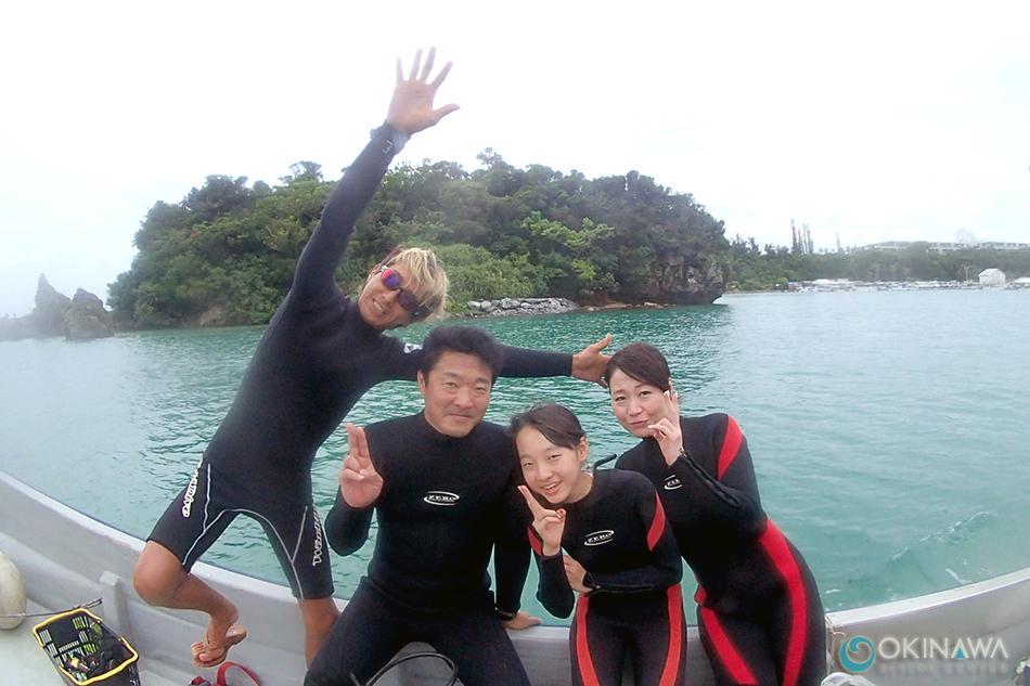 山田体験ダイビング