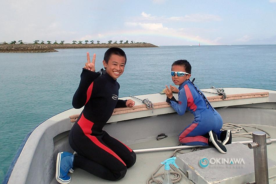 山田クマパラ体験ダイビング