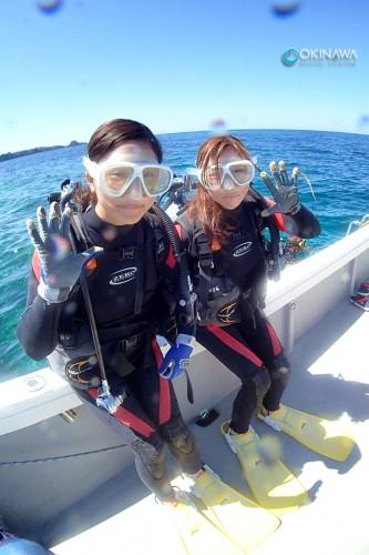 女子旅 体験ダイビング!