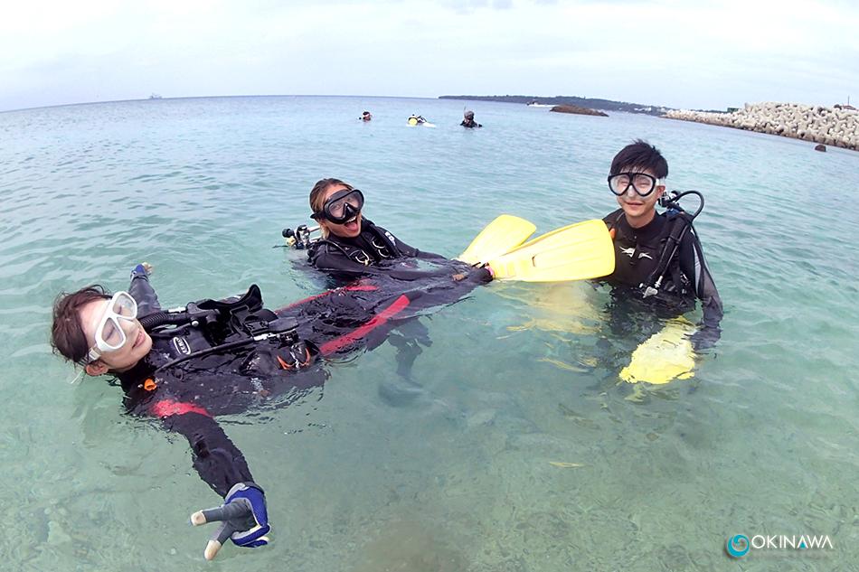ゴリラチョップ 体験ダイビング