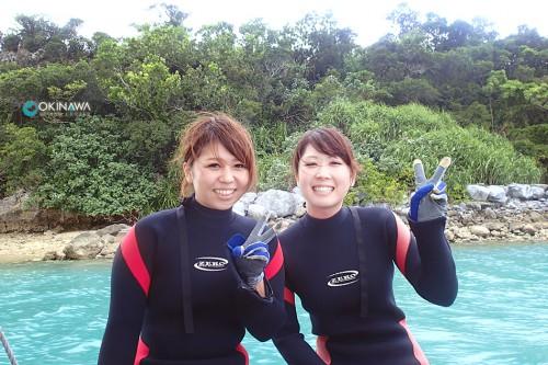 クマパラ 体験ダイビング