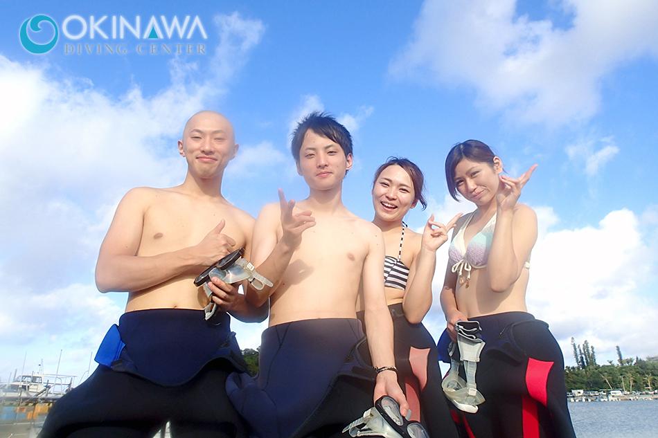 クマパラ体験ダイビング