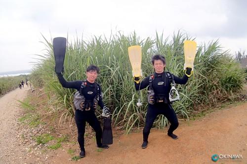 恩納村 体験ダイビング