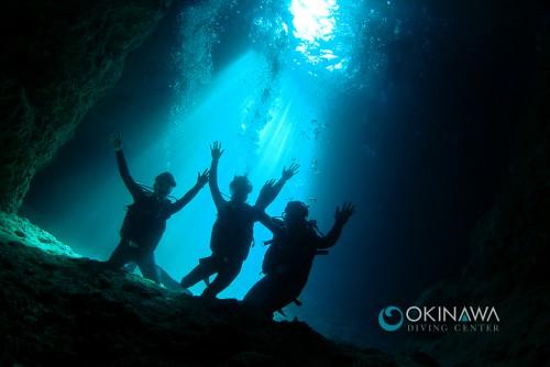 青野洞窟体験ダイビング