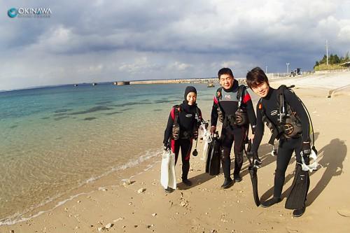 レッドビーチ ダイビング