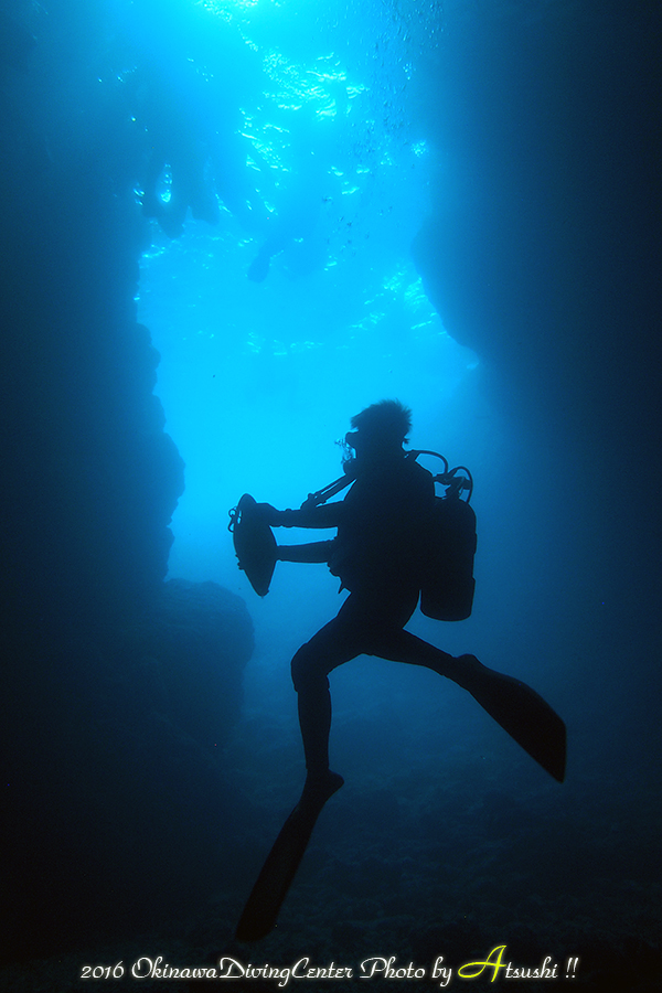 青の洞窟 ダイビング